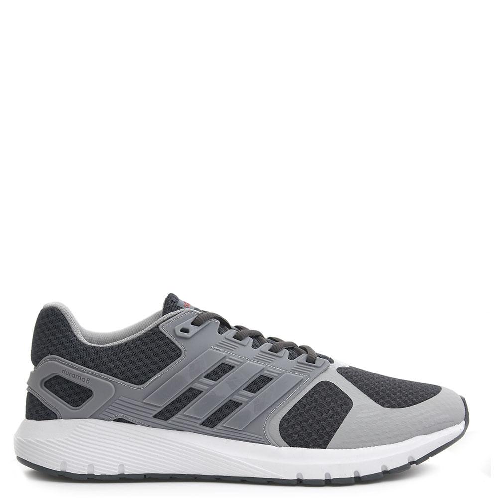 baaf2df7c7fff Tênis Adidas Duramo 8 M Grafite - eurico