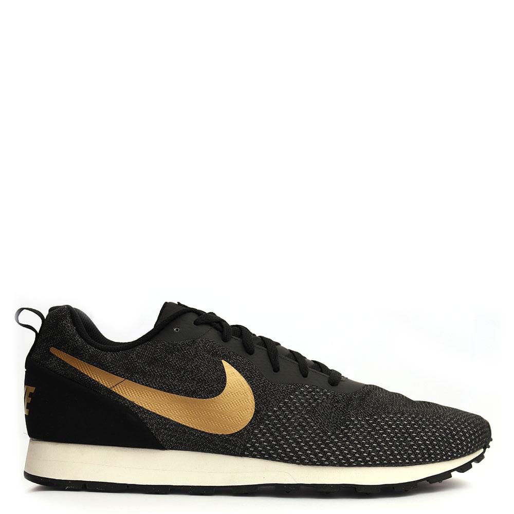 814a6aca5b Tênis Nike MD Runner 2 Eng Mesh Preto - eurico
